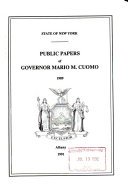 Public Papers  of the Governors
