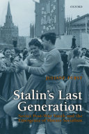 Book Stalin's Last Generation