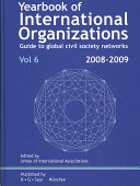 Yearbook Of International Organizations Volume 6 book
