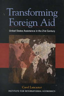 Transforming Foreign Aid