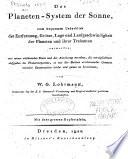 Das Planeten-System der Sonne
