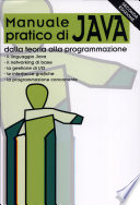 Manuale Pratico Di Java Teoria E Programmazione