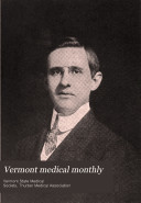 Vermont Medical Monthly