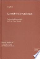 Liebhaber der Grossstadt
