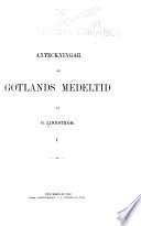 Anteckningar om Gotlands medeltid