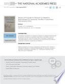 Review Of Proposals For Research On Statistical Methodologies For Assessing Variables In Eyewitness Performance