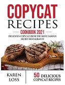 Copycat Recipes Cookbook 2021 50 Recipes Color Edition Volume 3