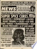 Weekly World News Of Supermarket Tabloid Publishing The Weekly World