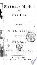 Naturgeschichte fur Kinder. Verfasset von C. Ph. Funke, herausgegeben von G.H.C. Lippold