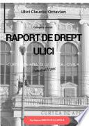 RAPORT DE DREPT ULICI
