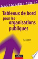 Tableaux de bord pour les organisations publiques