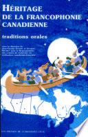 Héritage de la francophonie canadienne