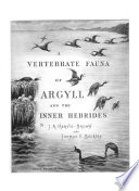 A Vertebrate Fauna of Argyll and the Inner Hebrides