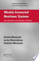 Weakly Connected Nonlinear Systems