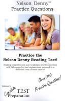 Nelson Denny Practice Questions