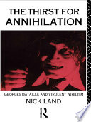 The Thirst For Annihilation book