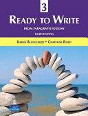 Ready to Write 3