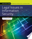 Legal Issues in Information Security