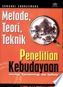 Metode, Teori, Teknik Penelitian Kebudayaan
