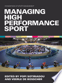 illustration du livre Managing High Performance Sport