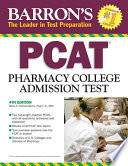 Barron s PCAT Pharmacy College Admission Test