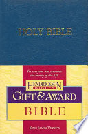 Gift and Award Bible KJV
