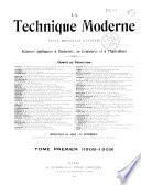 La Technique moderne