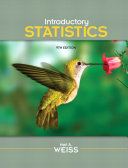 Introductory Statistics  9th Edition  Neil A  Weiss 2012