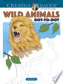 Creative Haven Wild Animals Dot to Dot