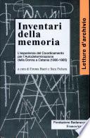 Inventari della memoria