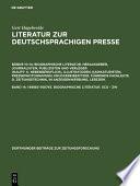149883–160745. Biographische Literatur. Sco - Zw