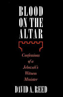 Blood On The Altar : jehovah's witness ban on blood transfusions than...