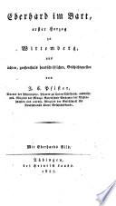 Eberhard im Bart, erster Herzog zu Wirtemberg
