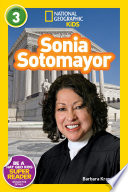 National Geographic Readers  Sonia Sotomayor