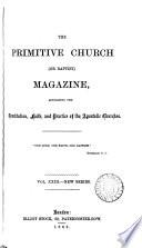 The Primitive Church Or Baptist Magazine