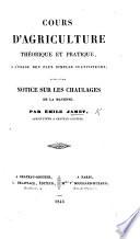 Cours D Agriculture Th Orique Et Pratique Suivi D Une Notice Sur Les Chaulages De La Mayenne