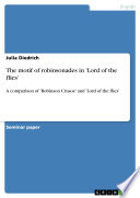 The motif of robinsonades in 'Lord of the flies'