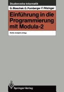Einführung in die Programmierung mit Modula-2