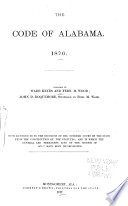 The Code of Alabama. 1876