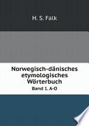 Norwegisch d nisches etymologisches W rterbuch
