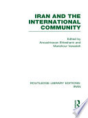 Iran and the International Community  RLE Iran D