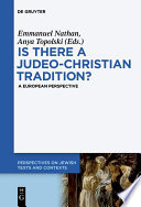Is there a Judeo-Christian Tradition?