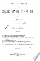 Annual Report Of The State Board Of Health Of Illinois