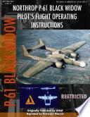 Northrop P 61 Black Widow Pilot s Flight Manual
