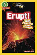 National Geographic Readers  Erupt  100 Facts about Volcanoes