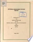 External Management Review Report