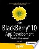 Learn BlackBerry 10 App Development