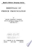 Essentials of French Pronunciation