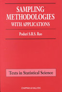Sampling Methodologies with Applications