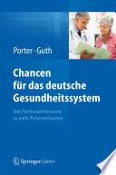 Chancen f  r das deutsche Gesundheitssystem